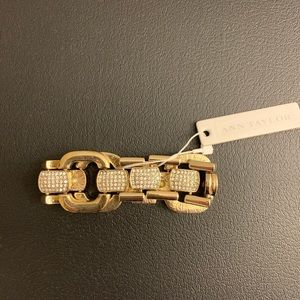 NWT — Ann Taylor gold and bling bracelet